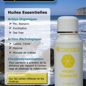 Cosmétique Cenaco - Hydro-Essences Jaune