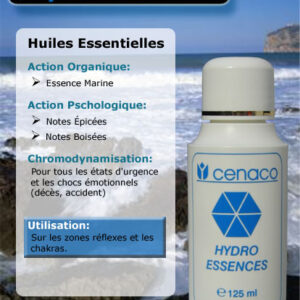 Cosmétique Cenaco - Hydro-Essences Marine